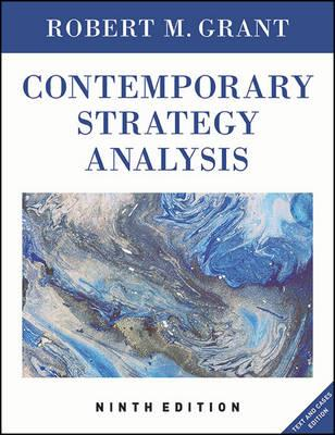 contemporary strategy analysis 9th edition ebook
