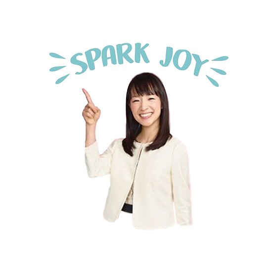 spark joy marie kondo epub