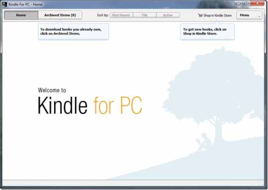 download kindle ebook to pc