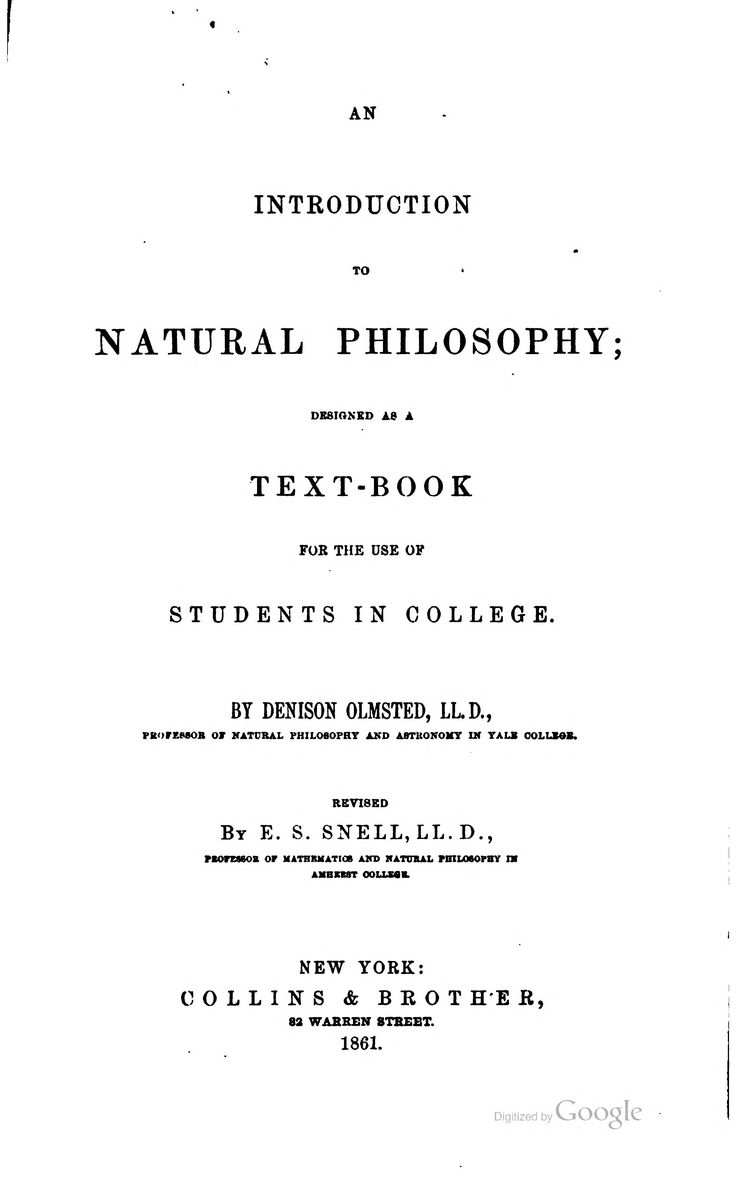 school of natural philosophy ebook