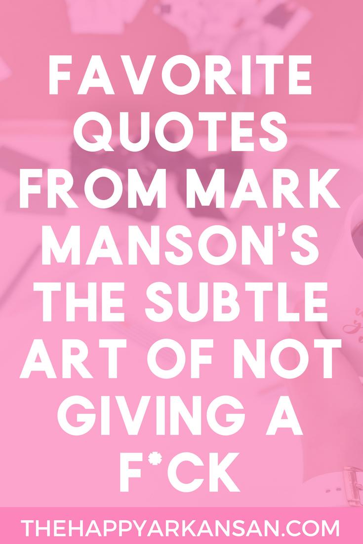 mark manson the subtle art epub