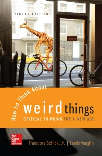 how to think about weird things 7th edition ebook