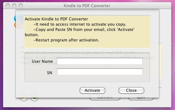 mac convert epub to kindle