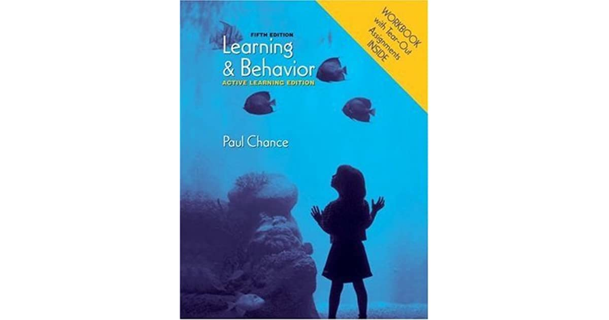learning and behavior paul chance ebook