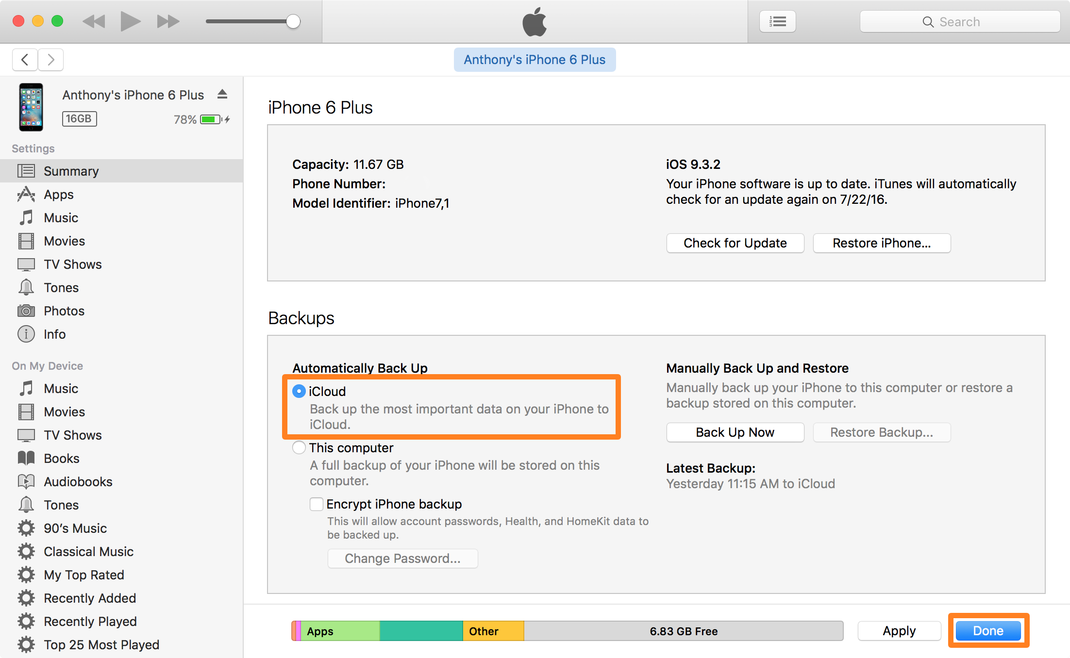 how to sync ebook to iphone itunes 12.7
