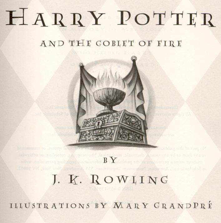 harry potter goblet fire epub